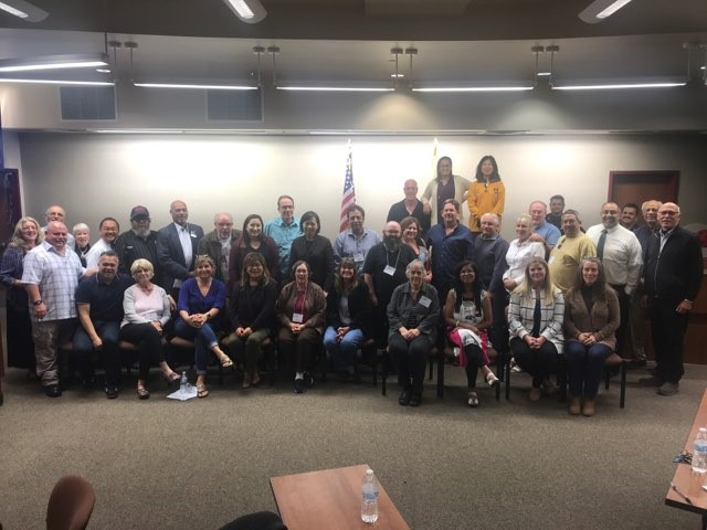 Graduates from Fall 2018 Citizens Academy